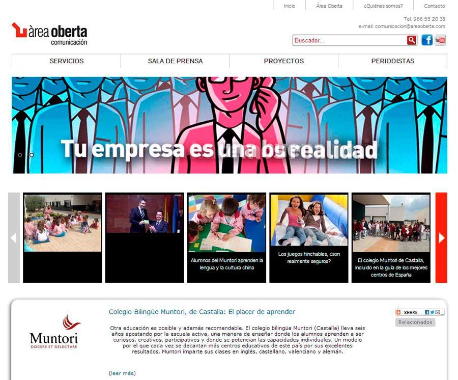 Areaoberta.com