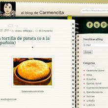 El blog de Carmencita