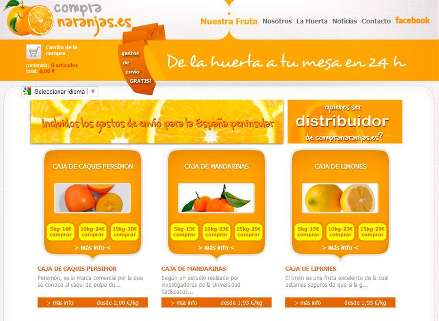 Tienda Online Compranaranjas.es