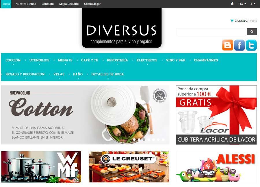 Tienda Online diversusregals.com